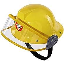 Sam El Bombero - Casco, color amarillo (Simba 9250741)