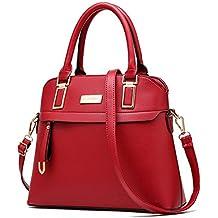 3f2045f298 (G-AVERIL) Borse In Vera Pelle Designer Top-Handle Spalla Del Tote