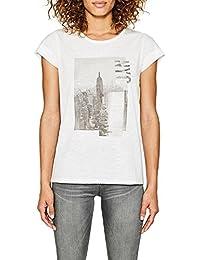Esprit 077ee1k045, T-Shirt Femme