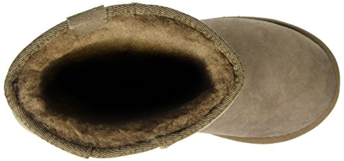 Emu Australia Stinger Hi, Boots femme Marron (Mushroom)