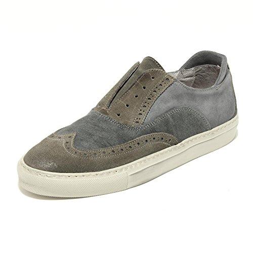7454G sneaker uomo PAWELK'S colore carta da zucchero grigio verde scarpa shoes m [39]