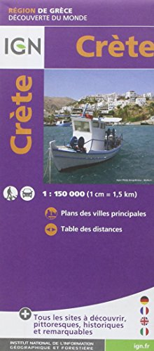 Descargar Libro 86209 CRETE  1/150.000 de COLLECTIF