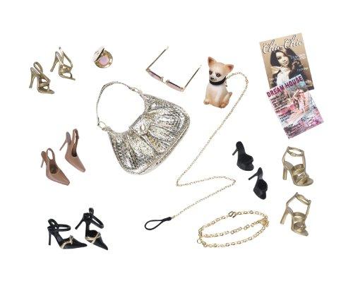 Barbie R9929 Basics Look 02 Collection 001 gold (Barbie-world Sammlung Puppen)