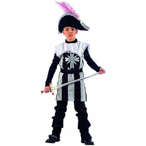 Limit Sport mi651–Costume Moschettiere per bambini, 3pezzi (cappello/stivali/tunica con cintura) - Lima Cappello