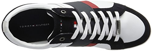 Tommy Hilfiger R2285oyal 3c1, Sneaker Basses Homme Blanc Cassé (White/midnight)