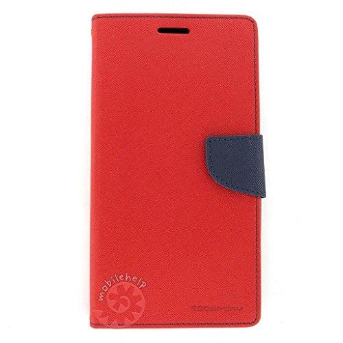 Tingtong Mercury Goospery Diary Flip Cover for LG G3 – (Red)