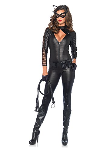 Leg Avenue 85412 - Wicked Kitty Damen kostüm, Größe Medium (EUR 38), Karneval (Kostüm Cat Noir)