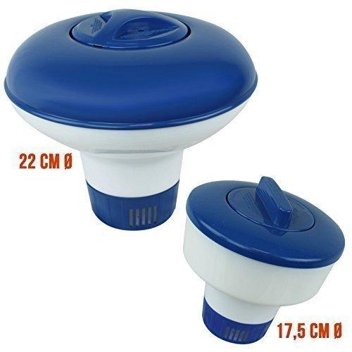 Linxor France® Diffusore di cloro galleggiante o