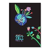 Lé Color (LECS8) 2016050/1 Floral Butik Tasarım Defter, 192 Sayfa Warm Hugs 1