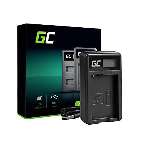 Green Cell MH 24 Caricabatterie per Nikon EN EL14 Batteria e D3100 D3200 D3300 D3400 D5100 D5200 D5300 D5500 D5600 Coolpix P7000 P7100 P7700 P7800