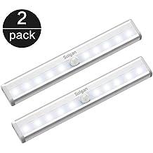 Lámpara LED de Armario, Sensor de Movimiento, Sensor de Luz Interior, Autoencendido/