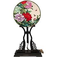 JinMi Decoración de Bordado a Doble Cara Presente a Doble Cara Arte de Bordado Obra Maestra Tradicional Decoraciones de Seda (Color : Style B)