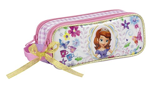 Princess Sofia- Portatodo Doble, Color Princesa sofía (SAFTA 811444513)