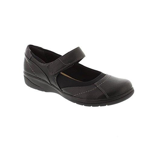 Clarks Cheyn Web - Black (Leather) Womens Shoes 6 UK