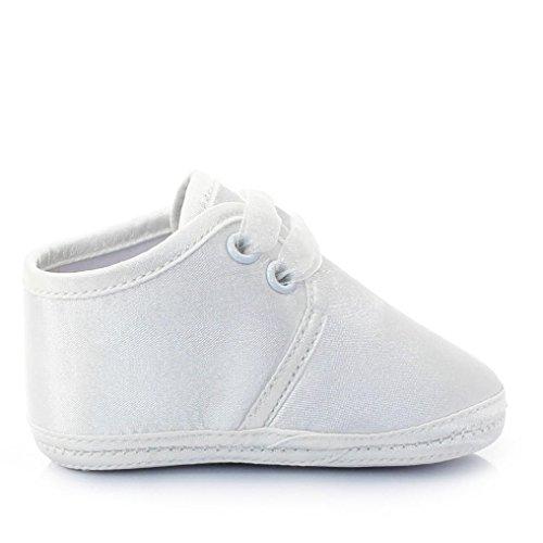 Ouneed® Krabbelschuhe , 3-12 Monate Neue Baby-weiße Prinzessin Anti Rutsch neugeborene Baby Schuhe Freizeitschuhe Weiß D
