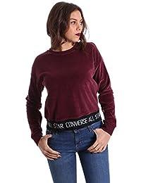 Converse 10006185 Sweatshirt Women Bordeaux M