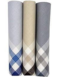 Peter England Men's Cotton Handkerchief (PEC3HPABA00133_Multi_One Size)