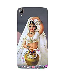 Dancing Girl With A Vessel HTC Desire 828 Case