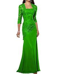 Promgirl House Damen 2016 Huebsch Spitze Traegerlos Mermaid Abendkleider  Ballkleider Lang mit Bolero 66ae0ee3c8