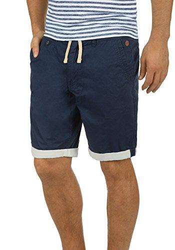 BLEND Kankuro Herren Shorts kurze Hose Bermuda-Shorts aus 100% Baumwolle, Größe:XL, Farbe:Navy (70230)
