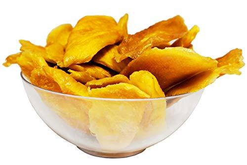 Getrocknete Mango Unbehandelt ohne Zucker & Zusätze - Premium Qualität - 1Kg - Zufrieden oder Rückerstattung