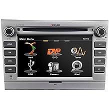 """ZENEC Z-E7015S Naviceiver mit GPS Navigation zur Nachrüstung passgenau für Porsche (Typ 987, 987c, 997) + Anbindung an Bose® Aktiv-Soundsystem via MOST + Autoradio UKW RDS Tuner mit DSP basierter Rauschunterdrückung + Navi SW iGO Primo mit EU-Karten f. 43 EU Länder + 6.2""""/15.7cm Touchscreen + CD/DVD Player + Bluetooth Freisprechen und Musik-Streaming + Gracenote USB-Medienverwaltung """"more like this"""" + Anbindung an die Lenkradfernbedienung via CAN + made for iPhone and iPod"""