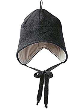 Disana Walk-Mütze Ohrenmütze 100% Schurwolle (k.b.T.) bio, Baby Kinder