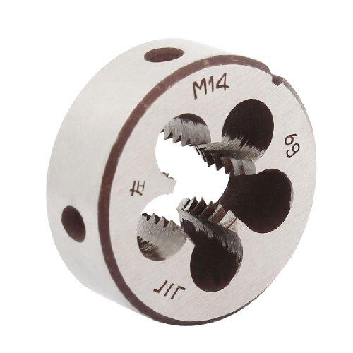 38 mm äußerer Durchmesser 14 mm Dicke M14 Gewinde rund Die linke Hand DE de