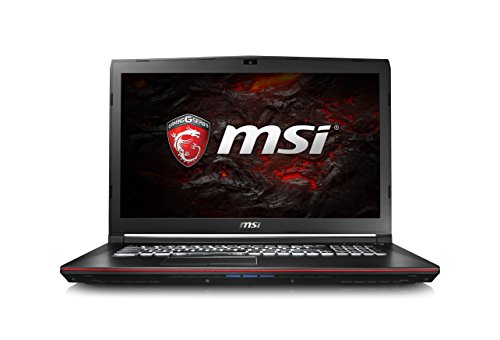 "MSI Leopard Pro GP72 7REX-612XES - Portátil de 17.3"" FHD (Kabylake i7-7700HQ, RAM de 16 GB, HDD de 1 TB, Nvidia Geforce GTX 1050 Ti, sin sistema operativo) negro"