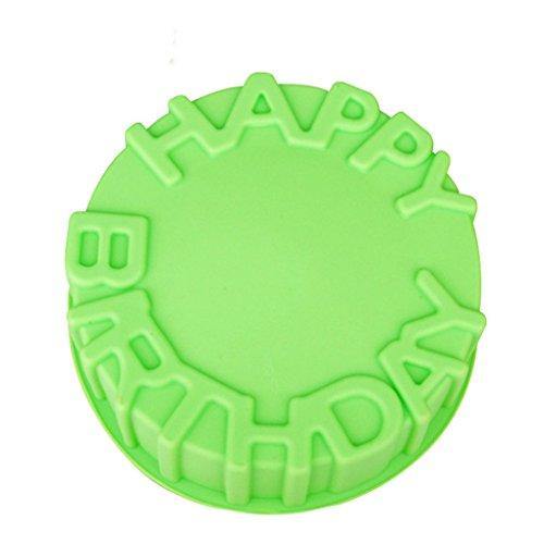 Wunhope Mould 3D Silikon DIY Dekorieren Schokolade Antihaftbeschichtung Geburtstag Ronde Englisch Alphabet DIY Fondant muffin Backform