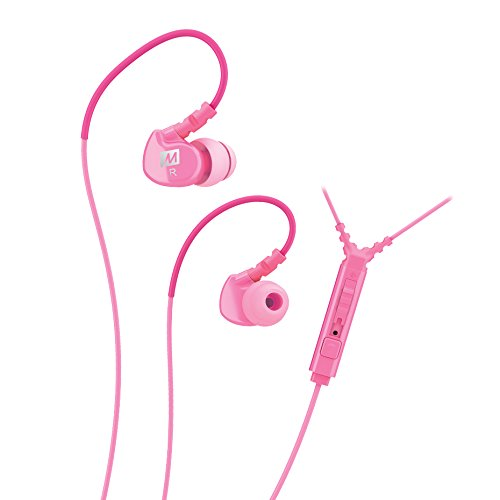 MEE Audio M6P2-PK G2 In Ear Headphones with Inline Mic, Remote and Universal Volume Control -