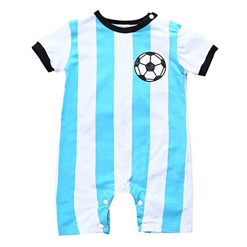 Unisex Baby Fußball Strampler Schlafstrampler Baumwolle Baby-Einteiler Bequemer Overall Baby Jumpsuit Kleidung Romper - Baby Fußball Kostüm Kleinkind