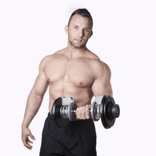 Kurzhanteln mit einstellbarem Gewicht im Test (5 bis 32,5 kg) - 5