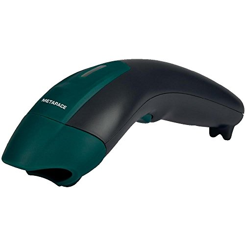 Metapace S-3 USB-Kit Barcode-Scanner Funk 1D Linear Imager Schwarz Hand-Scanner Funk 2.4GHz, USB