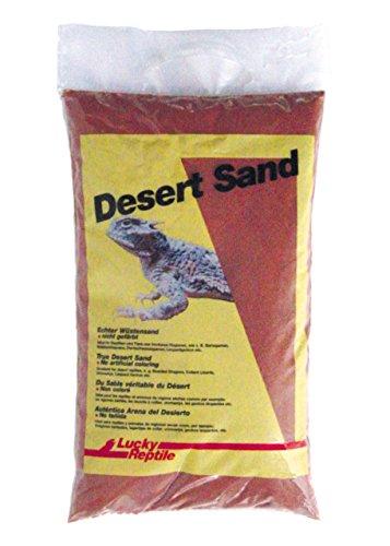 Lucky Reptile LSR-5 Namibia Red Wüstensand 5 kg, Bodengrund für Wüstenterrarien, rot