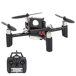 Goolsky Linxtech DM002(H) 2.4G 4CH 6-Axis Gyro DIY Mini RC Quadcopter 3D-Flips Drone Support 5.8G FPV Modification (Kit Version) by Goolsky