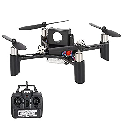 Goolsky Linxtech DM002(H) 2.4G 4CH 6-Axis Gyro DIY Mini RC Quadcopter 3D-Flips Drone Support 5.8G FPV Modification (Kit Version) from Goolsky