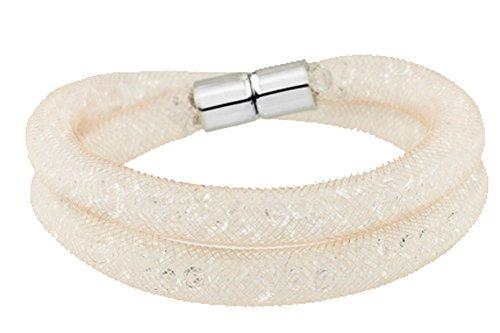 saysure-multicolor-mesh-net-double-wrap-bracelet