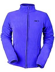 Izas Kaldy - Forro polar  para mujer, color violeta, talla L