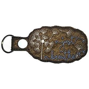 Schlüsselanhänger Pusteblume Just Breathe Schlüselband Schlüsselring