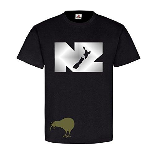 new-zealand-aotearoa-della-nuova-zelanda-felce-stemma-t-shirt-10438-nero-xxxxx-large