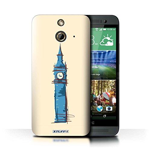 Kobalt® Imprimé Etui / Coque pour HTC One/1 E8 / La porte de Torii/Japon conception / Série Monuments Big Ben / Londre