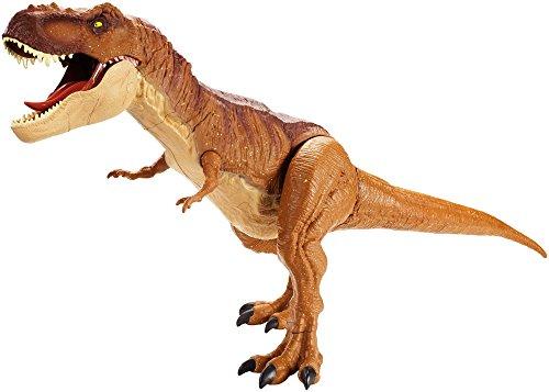 Mattel - Jurassic World T-Rex Extra Large Dinosauro Protagonista del Film, XL, Senza Suoni, FMM63