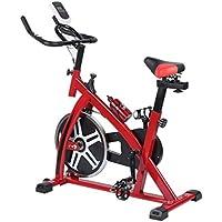 Preisvergleich für Binghotfire Profi Indoor Cycle SP6901 mit Smartphone App 8KG Schwungrad,Armauflage,Pulsgurt kompatibel-Speedbike mit flüsterleisem Riemenantrieb-Fahrrad Ergometer bis 120KG