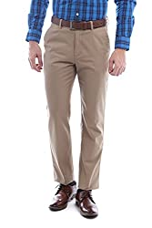 Peter England Slim Fit Pants _ PTF61500419_30_ Beige