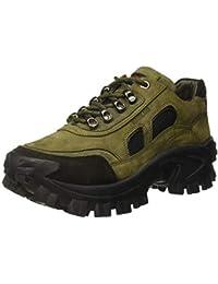 Woodland Men's OGC 2995118_Olive Green_7 Leather Boat Shoes-7 UK (41 EU) (8 US) 2995118OLIVE