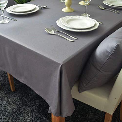 cke Rechteckige Tischdecke Baumwolle Leinen Tischdecke Geeignet für Home Küche Dekoration, Verschiedene Größen, A, 90x90cm ()
