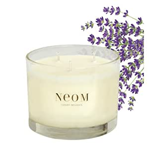 French Lavender, Geranium & Juniper scented Candle by NEOM Luxury Organics