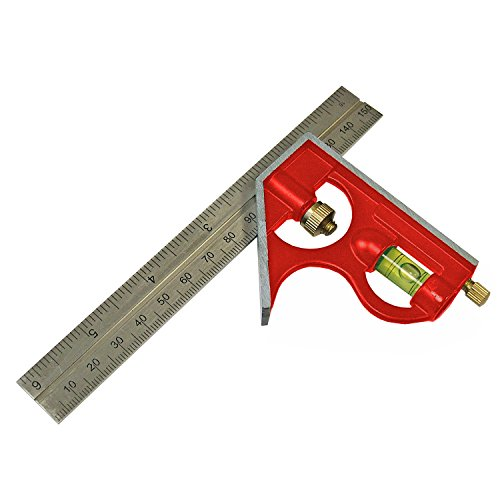 Faithfull CS150 Combination Square 150mm/6-inch