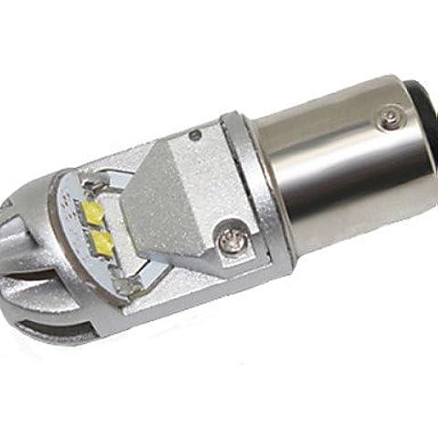 Venta caliente ZSQ DeVille Escalade 1157 12V 40W de CREE LED Coche Luz de giro freno de automóvil bombilla LED Luz de marcha atrás , blanco-blanco #5241